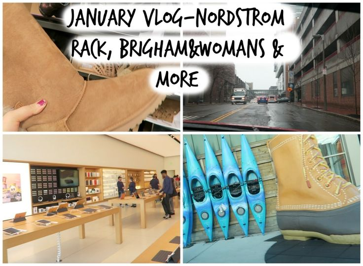 lifestyle: Ugg boots at nordstrom rack & apointment at Brigha...