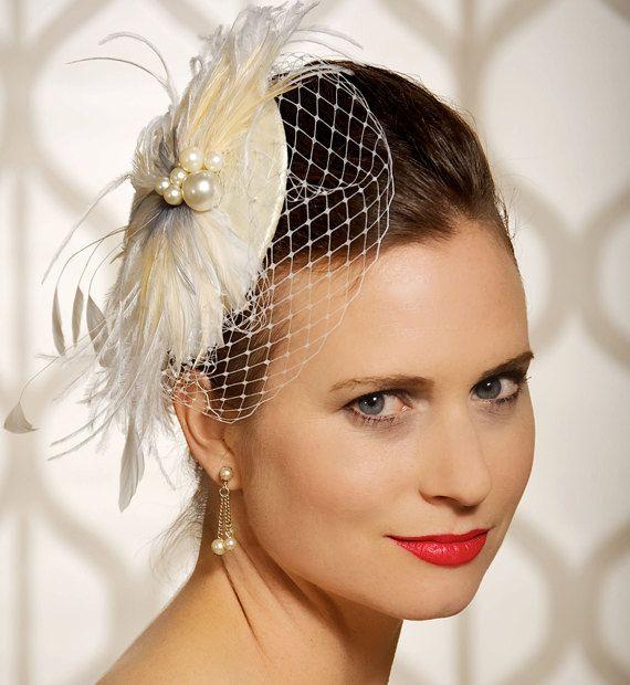Wedding Fascinator Bridal cocktail hat