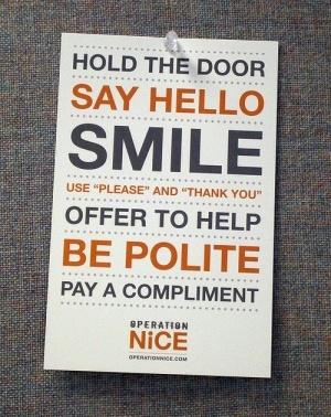 ...polite.