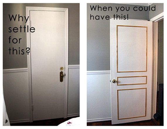 The Original SuperEasy Door Molding Kits Door RandRDesignworks