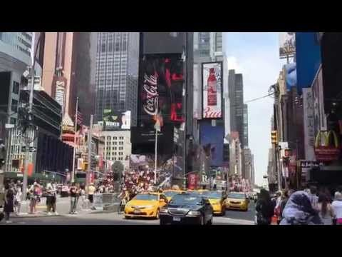Web камера США Нью-Йорк Таймс Сквер