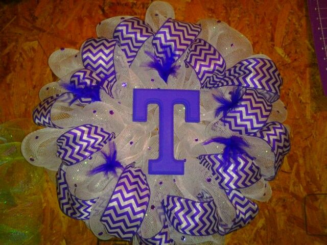 Tarleton State University...I LOVE this!! Bleed purple!