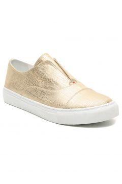Yargıcı Kadın Altın Parlak Spor Ayakkabı https://modasto.com/yargici/kadin-ayakkabi/br14778ct13 #modasto #giyim