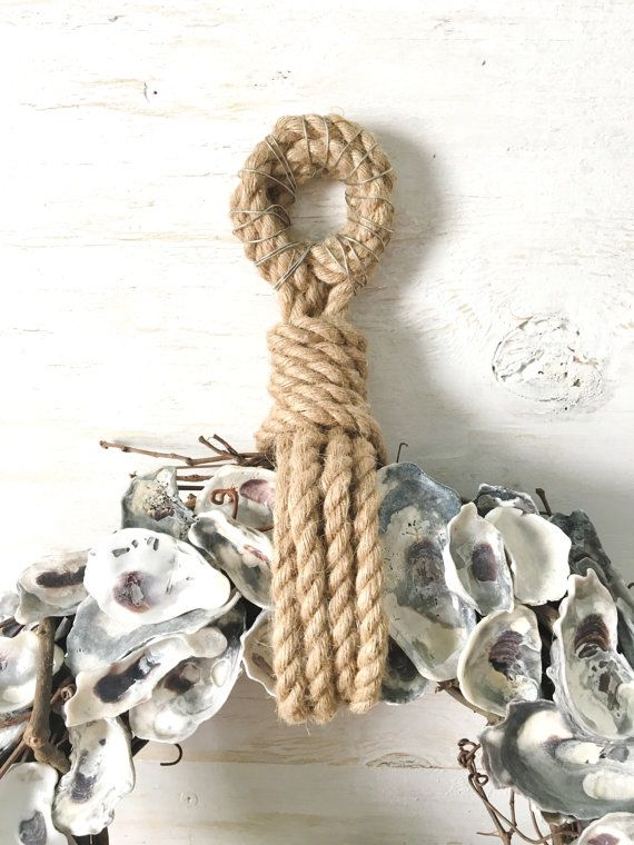 18 oyster Shell ghirlanda corona di Oyster Oyster