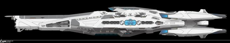 Ancile-Class Heavy Frigate - Mass Production by ChroniclesofMan.deviantart.com on @DeviantArt