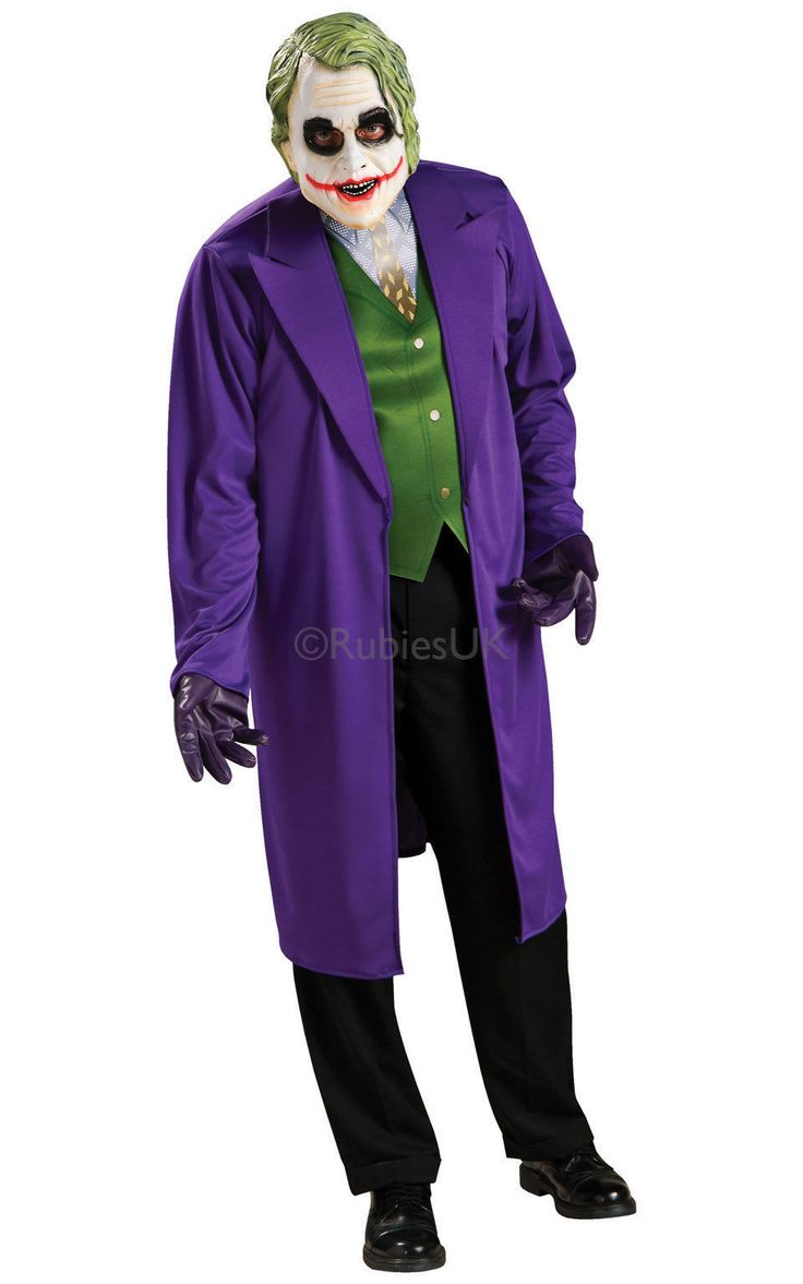 Mens joker batman the dark knight #superhero fancy #dress #costume outfit 888631,  View more on the LINK: 	http://www.zeppy.io/product/gb/2/221717674632/