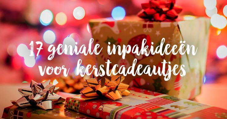 Kerstcadeautjes inpakken? Dat kan je als de beste na het lezen van onze meest geniale ideeën om je kerstcadeautjes in te pakken!