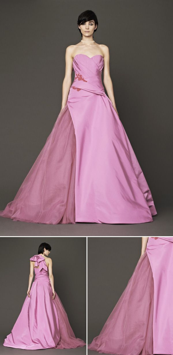 10 best Wedding: Colored Dresses images on Pinterest | Wedding ...