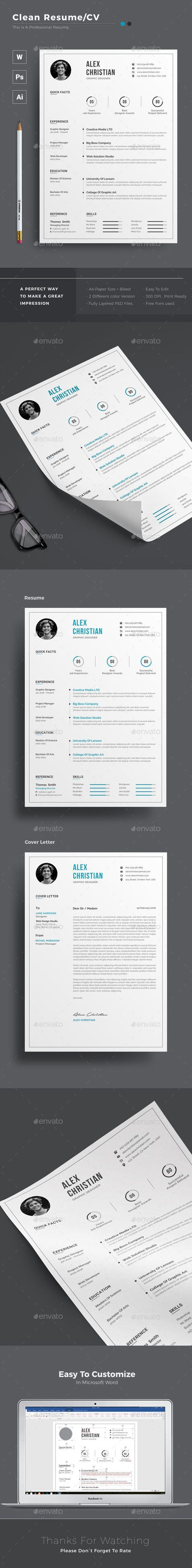 9 best Resumes images on Pinterest | Design resume, Resume and ...