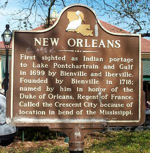 History of New Orleans, LA