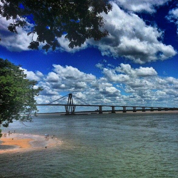 #corrientes #argentina #river #bridge
