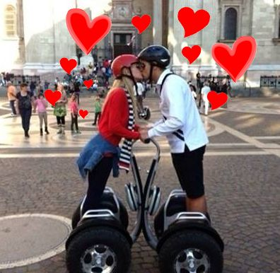Segway Love in Budapest