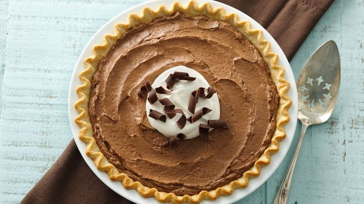 This simplified version of classic French Silk Chocolate Pie from the Pillsbury Bake-Off® Contest is rich, indulgent and every chocolate lover's dream dessert. For pretty presentation, top with sweetened whipped cream and chocolate curls.