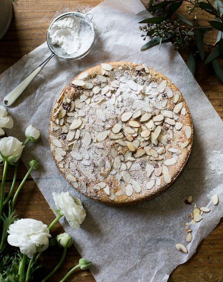 Italian Almond Ricotta Cake