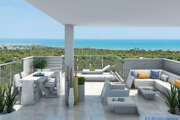 Luxus Apartments in Guardamar mit Meerblick  Details zum #Immobilienangebot unter https://www.immobilienanzeigen24.com/spanien/comunidad-valenciana/03140-guardamar/wohnung-kaufen/27745:2005832849:0:mr2.html  #Immobilien #Immobilienportal #Guardamar #Wohnung #Spanien