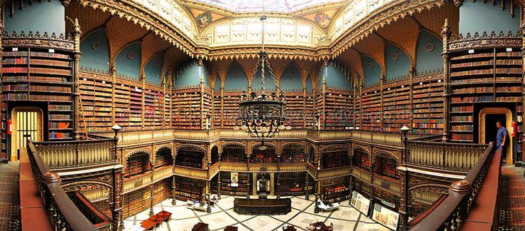 Biblioteca Real Gabinete Portugues De Leitura. Photo: Hady Khandani/ realgabinete.com