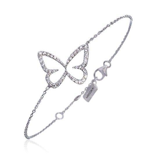 "Messika Butterfly Garden Bracelet / Браслет ""Бабочка"" от компании ""Мессика"""