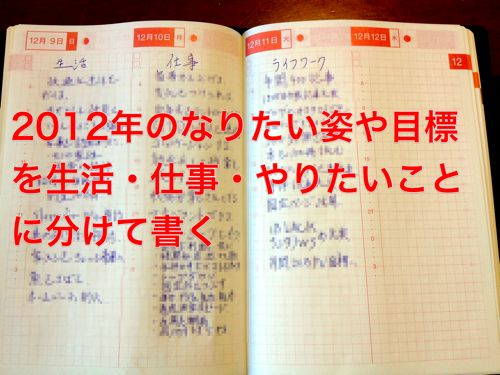 Hobonichi will be 1year 1