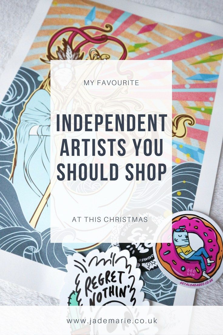 My Favourite Independent Artists You Should Shop At This Christmas