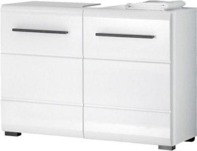 Die besten 25+ Waschbeckenunterschrank weiss Ideen auf Pinterest - badezimmerschrank 60 cm breit