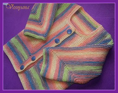 Knitted Joy: МК по детскому жакету Беби Сюрприз!