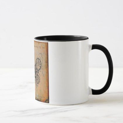 Cheers from Steve Walsh Rocks Mug - black gifts unique cool diy customize personalize
