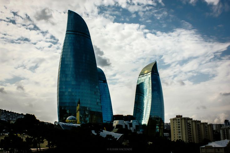 Photo Baku flame towers by İlham hacizade on 500px