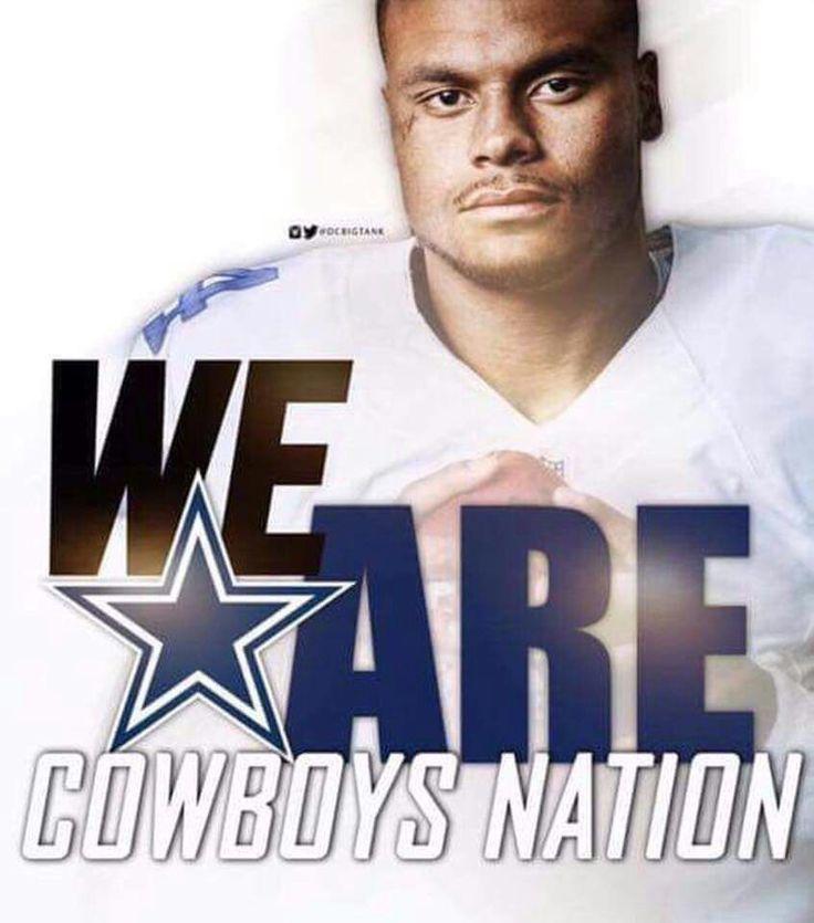 Dallas Cowboys America's Team Dak Prescott #DC4L TDCfans.com