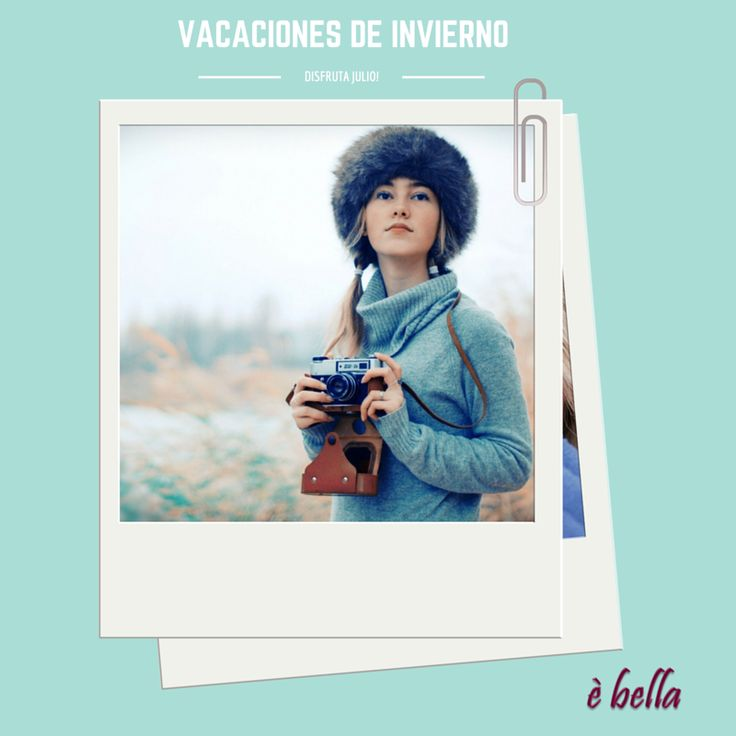 Con las vacaciones de Julio llegó el Invierno... Que el mal tiempo y el frío no te impidan disfrutar de las vacaciones! www.ebella.com.uy los mas lindos #accesoriosfemeninos