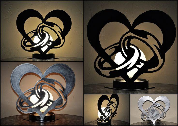 lampe tactile ST VALENTIN en métal : Luminaires par blandin