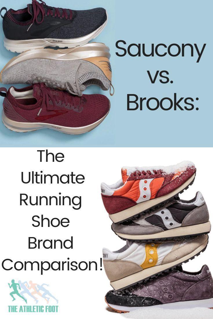 saucony vs brooks