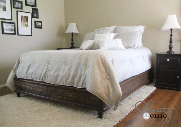 17 Best Diy Bed Images On Pinterest Wood Diy And Bed