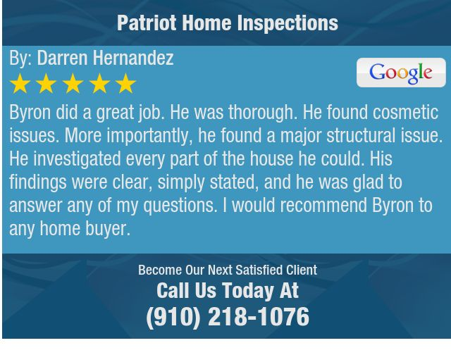 Byron did a great job. He was thorough. He found cosmetic issues. More importantly, he...