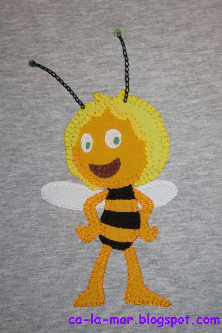 Patchwork: Camiseta de la abeja Maya