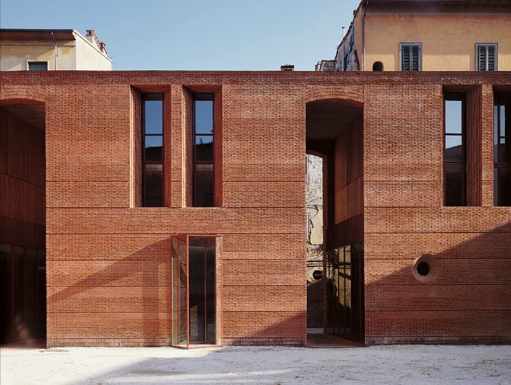 Reconstruction of San Michele | Massimo Carmassi