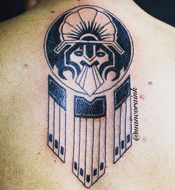 Inca warrior tattoo images galleries for Saxon warrior tattoos