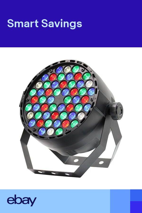 Equinox MidiPar RGBW 54 x 1W LED DMX Parcan DJ Disco Club Lighting Effect