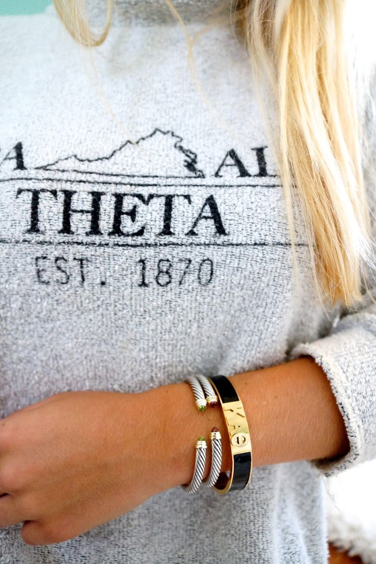 Sorority Gifts with Ever Row // Kappa Alpha Theta // www.amybelievesinpink.com
