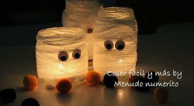 """Tutorial en https://www.youtube.com/watch?v=_AztzspTMWE   El blog de """"Coser fácil y más by Menudo numerito"""": Ideas fáciles para Halloween"""