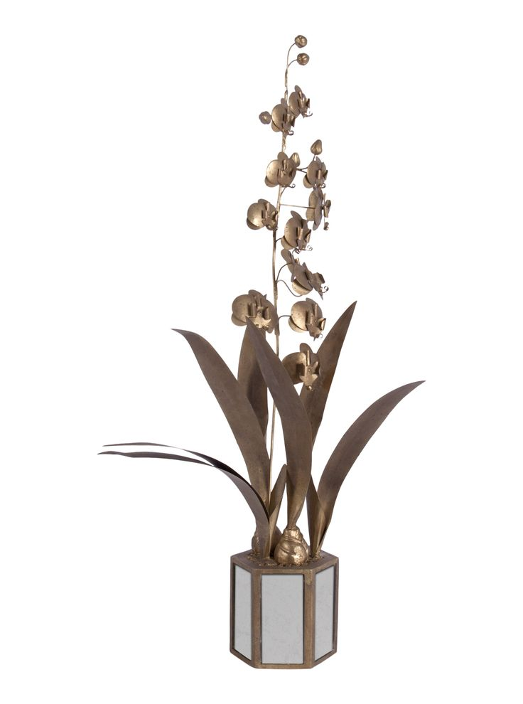 Buy Star of Leyte Orchid by Bliss Studio - Quick Ship designer Accessories from Dering Hall's collection of Contemporary Transitional Decorative Objects.