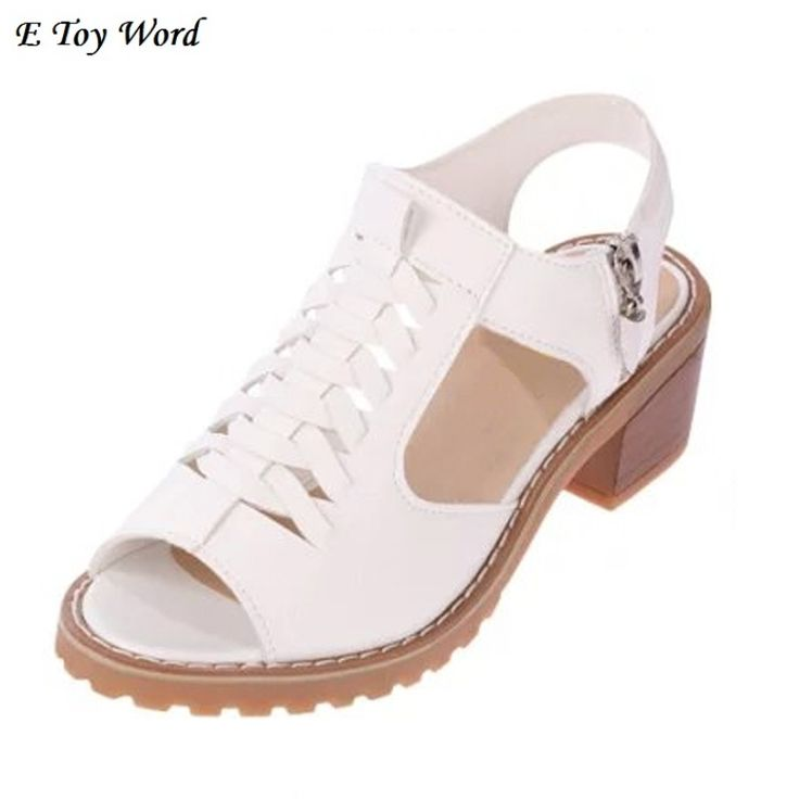 2017 tide thick sandals women flat  Korean beef tendon students fish mouth princess of restoring ancient ways with women's shoes