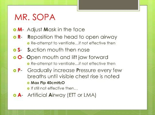 MR. SOPA acronym for NRP - via 6th edition