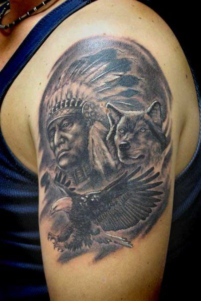 75 best Apache indian an tattoos !'n images on Pinterest ...  75 best Apache ...