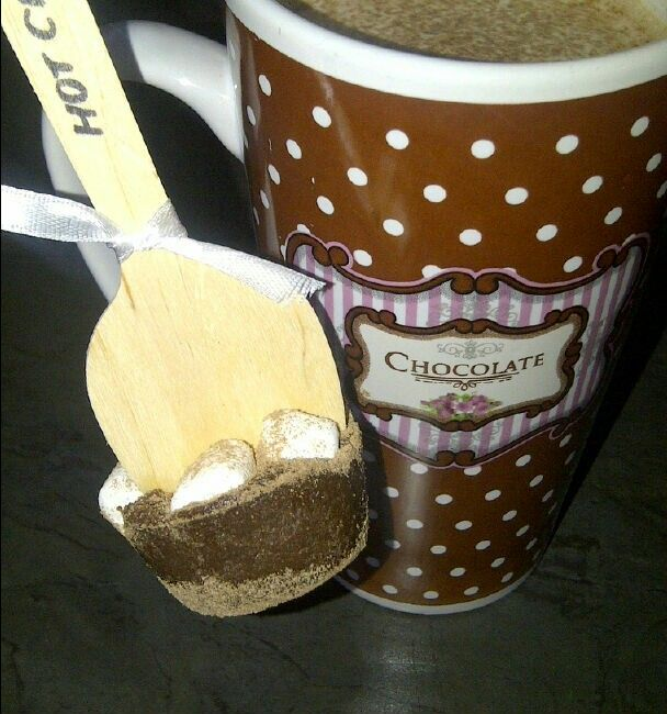 Hot choc spoons :)