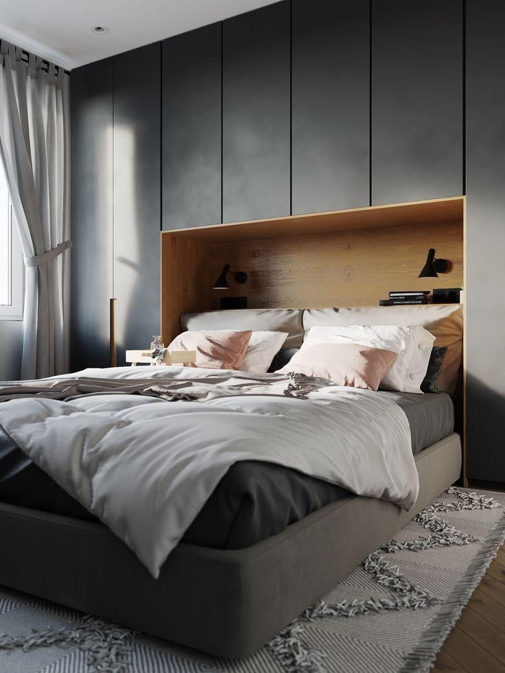 Einbauschrank Und Bett Modern Bedroom