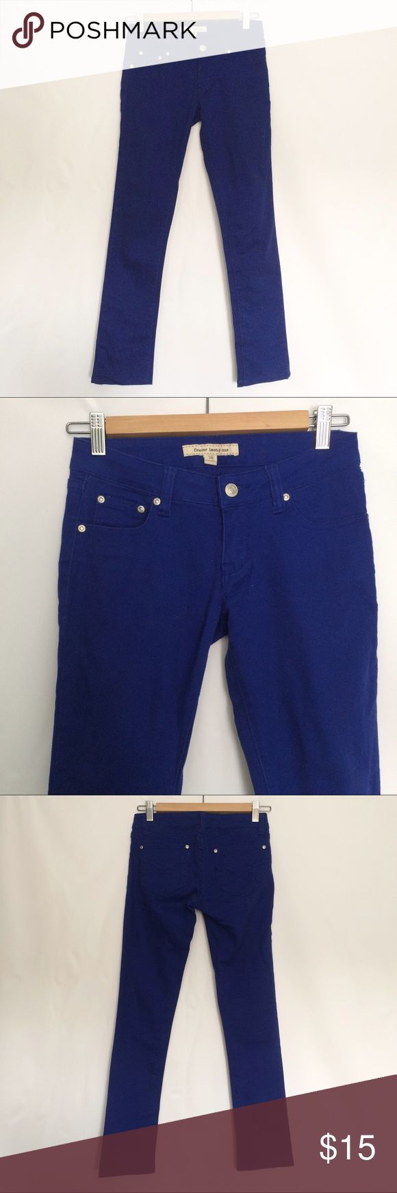 Cobalt Blue Jeans great condition. Forever 21 Jeans Straight Leg