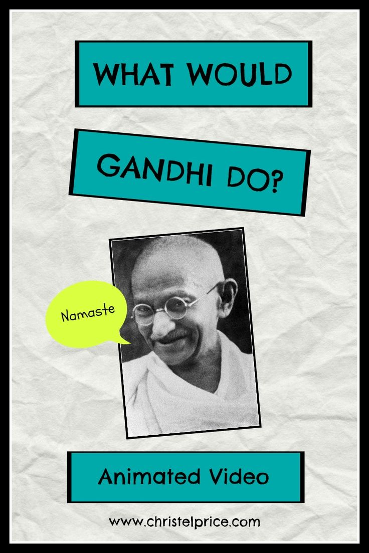 Gandhi's advice for dealing with nasty comments from people. http://www.christelprice.com/gandhi/