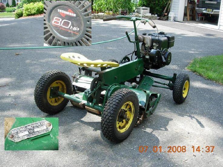 Mini Antique Tractors : Antique mower sold tractor national