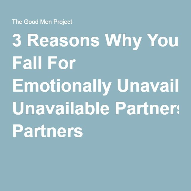 emotionally unavailable partner