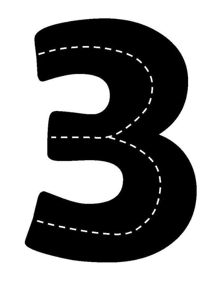 Verkeerscijfer 3
